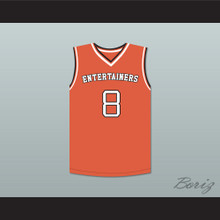 """Kobe Bryant 8 """"K 2 Tha Izo"""" Rucker Park Basketball Jersey Stitch Sewn"""