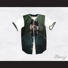 Ice Cube 15 Green Los Angeles Baseball Jersey