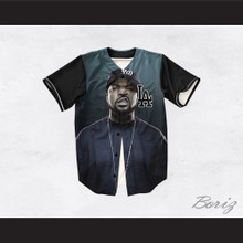 Ice Cube 15 Blue Los Angeles Baseball Jersey