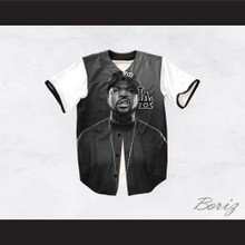 Ice Cube 15 Gray Los Angeles Baseball Jersey