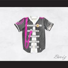 John Lennon 17 Gray Sgt. Pepper's Style Baseball Jersey