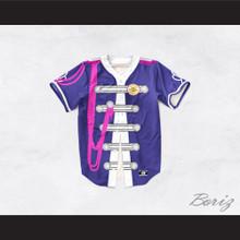 John Lennon 17 Purple Sgt. Pepper's Style Baseball Jersey