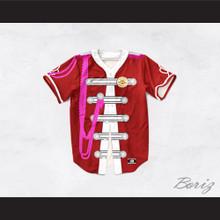 John Lennon 17 Red Sgt. Pepper's Style Baseball Jersey