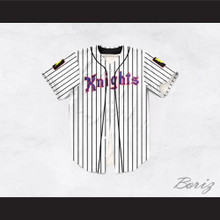 Roy Hobbs 9 New York Knights Dye Sublimation Graphics Baseball Jersey