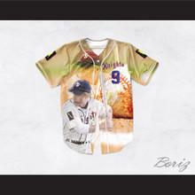 Roy Hobbs 9 New York Knights Baseball Theme Design Baseball Jersey The Natural