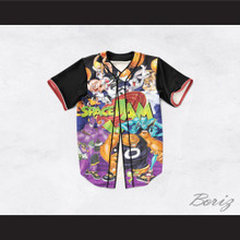 Space Jam 1 Dye Sublimation Graphics Baseball Jersey