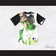 87dc4a14f26a Tupac Shakur 13 New York Cannabis Baseball Jersey