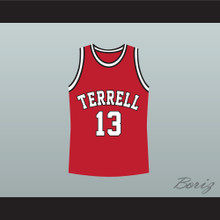 Jamie Foxx Eric Bishop Terrell Tigers 13 High School Basketball Jersey