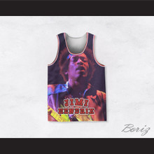 Jimi Hendrix 10 Night Concert Basketball Jersey