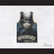 Jimi Hendrix 10 Night Stars Basketball Jersey