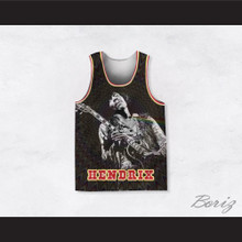 Jimi Hendrix 10 Guitar Solo Trip Basketball Jersey