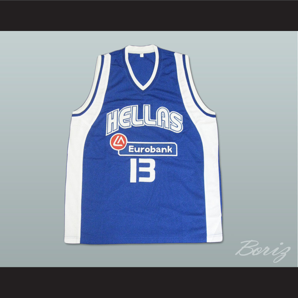 78d29302e Dimitris Diamantidis Greece Basketball Jersey. Price   45.99. Image 1