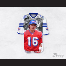 Shane Falco 16 Sentinels Movie Scenes White Football Jersey The Replacements