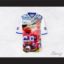 Jumbo Fumiko 68 Sentinels Dye Sublimation Graphics Football Jersey The Replacements