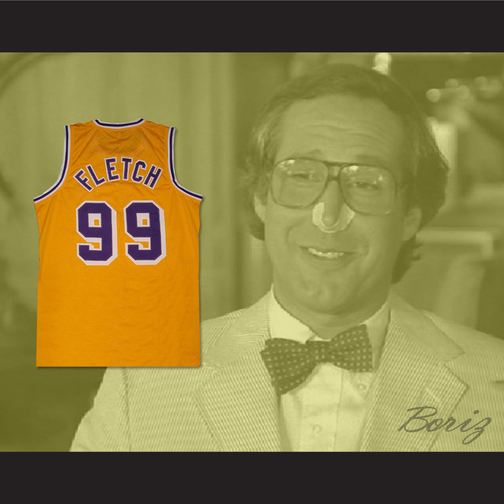 6a59186a07ae Chevy Chase Irwin  Fletch  Fletcher 99 Basketball Jersey. Price   45.99.  Image 1. Larger   More Photos