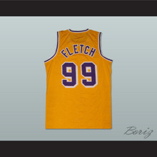 Chevy Chase Irwin 'Fletch' Fletcher 99 Basketball Jersey
