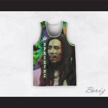 Bob Marley 06 Uprising Ganja Basketball Jersey