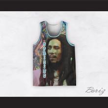 Bob Marley 06 Uprising Psychedelic Basketball Jersey