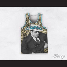 Al Capone 20 Bullets Design Basketball Jersey