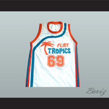 "Downtown ""Funky Stuff"" Malone Flint Tropics Semi Pro Team Basketball Jersey"
