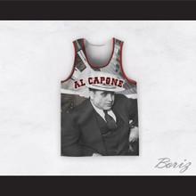 Al Capone 20 Skyscraper Design Basketball Jersey