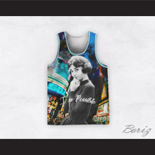 Audrey Hepburn 04 I'm Possible Intersection Design Basketball Jersey
