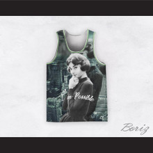 Audrey Hepburn 04 I'm Possible Rooftop Design Basketball Jersey