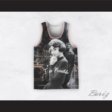 Audrey Hepburn 04 I'm Possible City Streets Design Basketball Jersey
