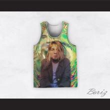 Kurt Cobain 20 Nirvana Psychedelic Eye Basketball Jersey