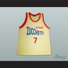 Gianluca Basile Zucchetti Software Basketball Jersey Korac Cup