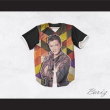 Elvis Presley 1 Geometric Design Baseball Jersey