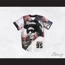 Eazy-E 95 Fuck The Police Stars Baseball Jersey