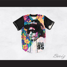 Eazy-E 95 Fuck The Police Hawaiian Style Baseball Jersey