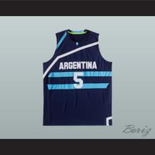 Manu Ginobili 5 Argentina Basketball Jersey Any Player