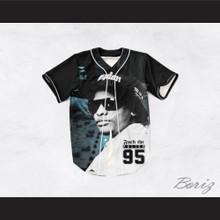 Eazy-E 95 Fuck The Police Mixing Board Black Baseball Jersey