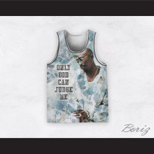 Tupac Shakur 12 Only God Can Judge Me Ocean Basketball Jersey