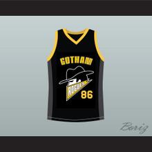 Gotham Rogues Hines Ward Basketball Jersey Black Stitch Sewn