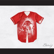 Snoop Dogg 19 Smoke Red Baseball Jersey