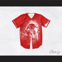 Snoop Dogg 19 Smoke Red Baseball Jersey