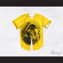 Snoop Dogg 19 Smoke Yellow Baseball Jersey