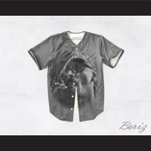 Snoop Dogg 19 Smoke Gray Baseball Jersey
