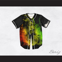 Snoop Dogg 99 Smoke Cloud Black Baseball Jersey