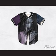 Snoop Dogg 99 Smoke Cloud Black Night Stars Baseball Jersey