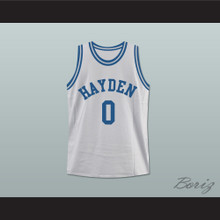 Zac Efron Mike O'Donnell Hayden Warriors High School Basketball Jersey