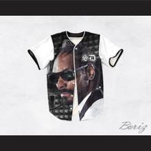 Snoop Dogg 15 Tuxedo Microphone Baseball Jersey