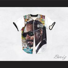 Snoop Dogg 15 Tuxedo Studio Equipment Baseball Jersey