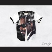 Snoop Dogg 15 Tuxedo Mixing Board Baseball Jersey