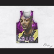 Snoop Dogg 12 Braids Purple Basketball Jersey