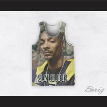Snoop Dogg 12 Braids Camouflage Basketball Jersey