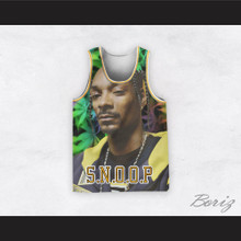 Snoop Dogg 12 Braids Cannabis Basketball Jersey